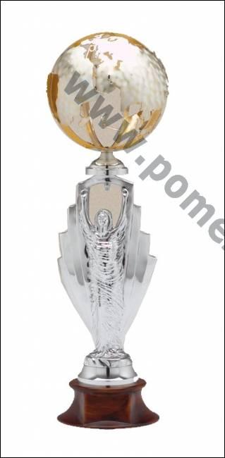 Coppe roma trofeo in resina argento mondo metallo - Bagno galvanico ...